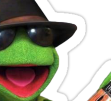 Bada$$ Kermit Sticker