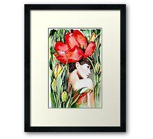 """The Tulip""  Framed Print"