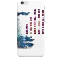 u2 beautiful day iPhone Case/Skin