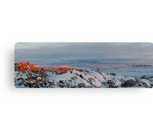 La Sal Mountain From Fiery Furnace Canvas Print