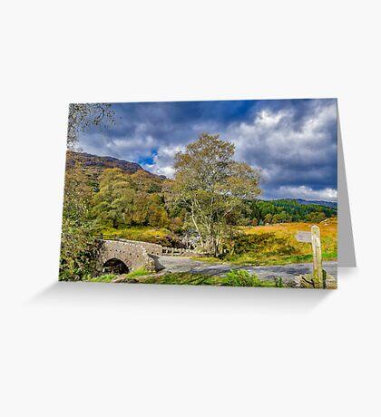 Birks Bridge Duddon Valley Greeting Card