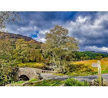 Birks Bridge Duddon Valley Photographic Print
