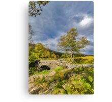 Birks Bridge Duddon Valley Canvas Print