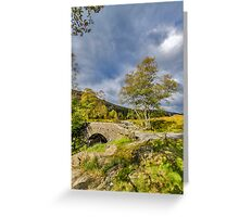 Birks Bridge Duddon Valley Greeting Card