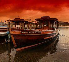 lake Windermere Boat by Trevor Kersley