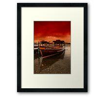 lake Windermere Boat Framed Print