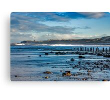 Sandsend Seascape Canvas Print