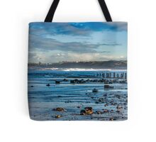 Sandsend Seascape Tote Bag