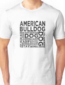 American Bulldog Unisex T-Shirt
