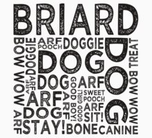 Briard by Wordy Type