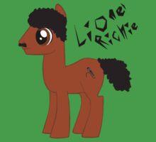 MLP FIM Lionel Richie Baby Tee