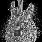 Guitar Liquid Metal by amanda metalcat