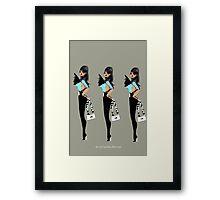 Cool Fashion by Carolina Sherwani Framed Print
