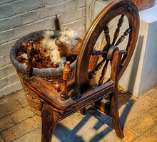 Spinning Wheel by Ian Mitchell