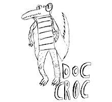 Doc Croc (black) Photographic Print