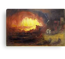 The Destruction of Sodom and Gomorrah, 1852,  John Martin (English,  Metal Print