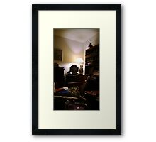 Time Machine - Mickey, Back to the '20s ! Framed Print