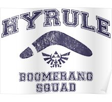 Hyrule Boomerang Squad Poster