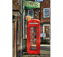 Two icons of Britain  Photographic Print