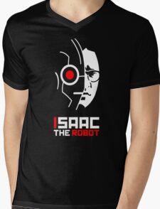Isaac the Robot Mens V-Neck T-Shirt