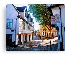 Elm Hill, Norwich Canvas Print