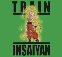 Train Insaiyan Super Saiyan God by BadrHoussni