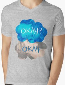 Okay? Okay Mens V-Neck T-Shirt