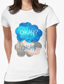 Okay? Okay Womens Fitted T-Shirt
