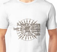 u2 i can't change the world Unisex T-Shirt