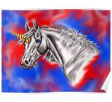 Digital Unicorn  Poster