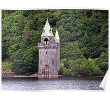 A Gothic Revival Straining Tower Poster