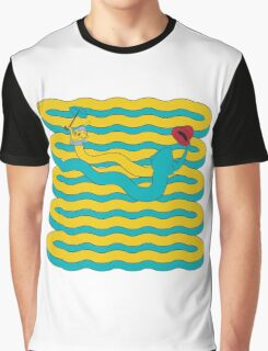 Elephant Bubbles Graphic T-Shirt