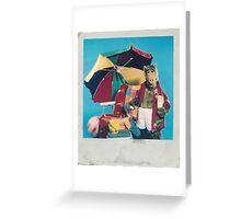 ALF Vacation Polaroid Greeting Card