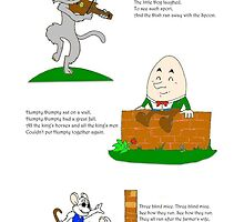Nursery Rhyme Team Up! by Sam Castle