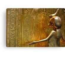 Golden Goddess Serket Canvas Print