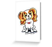 Blenheim CKCS Little Rocker Greeting Card