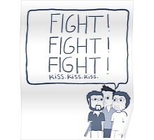 Fight! Kiss! Poster