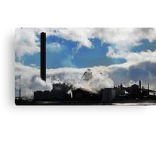 The Steelworks, Port Talbot, Wales Canvas Print