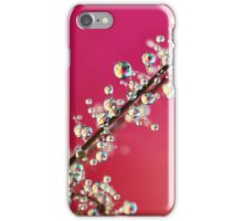 Smoking Pink Drops II iPhone Case/Skin