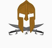 Spartan helmet crossed swords Unisex T-Shirt