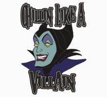 Maleficent Chillin Like a Villain Kids Clothes