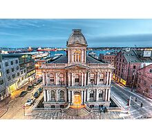 United States Custom House Photographic Print