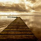 Wooden Jetty by George Standen