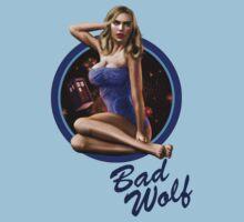 Bad Wolf - Aircraft Pin Up Girl T-Shirt