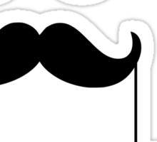 KEEP IT CLASSY, classy, mustache, beard, monocle, nerd Sticker
