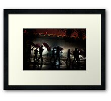 Xi'an dance Framed Print