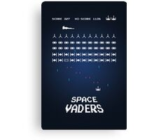 Space Vaders Canvas Print