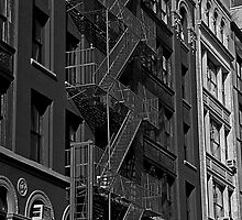 Soho Fire Escape No.2, New York by JMChown