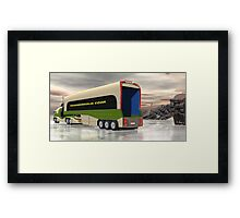 Ice Road Trucking - version 2 Framed Print