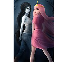 Marceline and Princess Bubblegum Photographic Print
